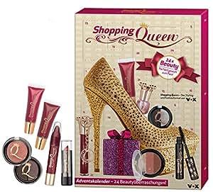 shopping queen beauty adventskalender 2016 1er pack 1 x 24 st ck beauty. Black Bedroom Furniture Sets. Home Design Ideas