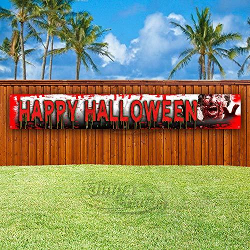 Happy Halloween XXL 313 oz Heavy Duty Vinyl Banner Schild mit Metallösen, Neu, Store, Werbung, Flagge, verschiedene Größen erhältlich 52