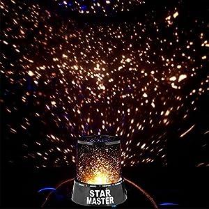 The Virgo Star Master Home LED Sky Night light Cosmos Master Projector NightLamp