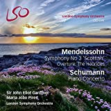 Mendelssohn: Symphony No.3 'Scottish', Overture: The Hebrides; Schumann: Piano Concerto [1 Blu-ray audio/1 Hybrid SACD]