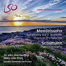 Mendelssohn/Schumann: Sinfonie 3-Schottische / Klavierkonzert ( SACD hybrid + BluRay)