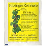 Steinberg Jäst Kitzinger 50L — Aktivt torkad vinjäst för steinberg-vin, vinframställning jäst, ängjäst, nötteringsämnen, jäst