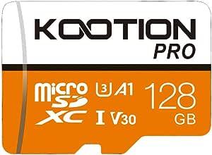 Kootion Micro Sd Karte 128gb Uhs I Speicherkarte Computer Zubehör