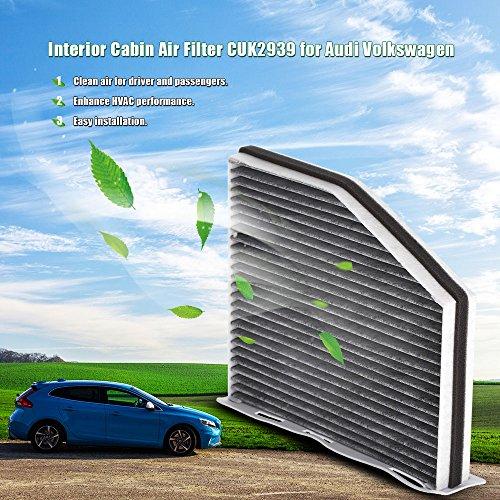 kkmoon-filtro-dellaria-per-veicolo-cabina-filtro-aria-cuk2939-per-audi-volkswagen