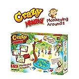 Monkeying Around Balancing Board Game - Crazy Monkey Divertido juego...