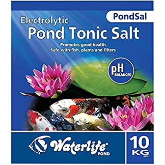 Waterlife PondSal Pond Tonic Salt - Garden Pond Koi Fish Treatment - 10Kg Bag 7