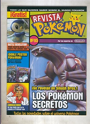 Revista pokemon numero 95