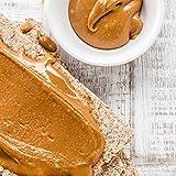 nu3 Erdnussbutter / Peanut Butter - 1 Kg pure natürliche Erdnussbutter | Erdnussmus Vegan und ohne Zucker | keine Zusätze von Salz, Öl oder Palmfett | 28g Protein pro 100g | Glutenfrei | Vielseitig einsetzbar
