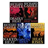 Richard Castle 5 Books Collection Set (Nikki Heat Series), (Deadly Heat, Frozen Heat, Heat Rises, Naked Heat and Heat Wave)