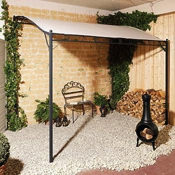 Amazon.de: Pavillon Wave Terrassenüberdachung Eisen