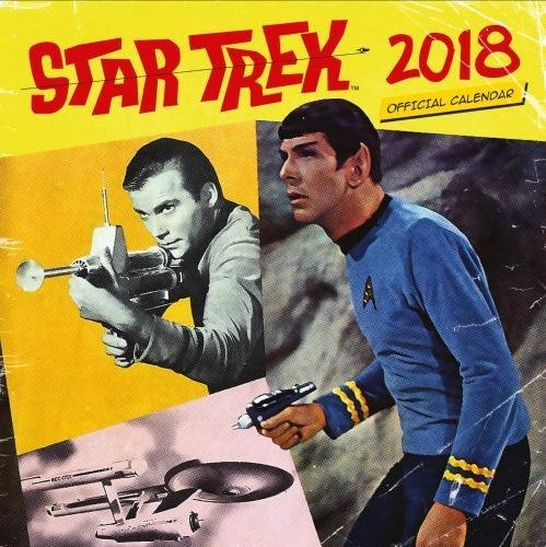 Star Trek Official 2018 Calendar - Square Wall Format par Star Trek