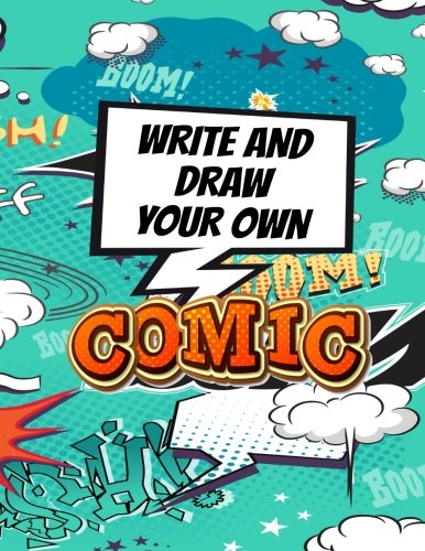 """Write And Draw Your Own Comic Book: Make Your Own Comic Book Journal Notebook, 108 Pages 8.5"""" x 11"""", Variety Of Templates (2-9 Panel Layouts): Volume 35 (Blank Comic Books)"""