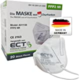 COCO BLANCO FFP2 Masken CE Zertifiziert aus Deutschland - 20X FFP2 Maske (NR) MADE IN GERMANY - Premium Atemschutzmaske FFP2