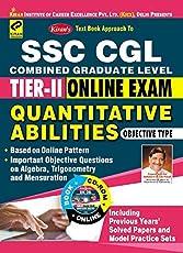 Kiran's SSC CGL Tier – II Online Exam Quantitative Abilities with CD - 1856