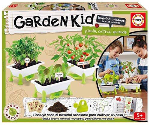 Educa Borrás - Garden Kid Tomate, Lechuga y...