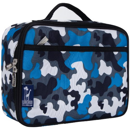 wildkin-blue-camo-kids-lunch-box-mehrfarbig