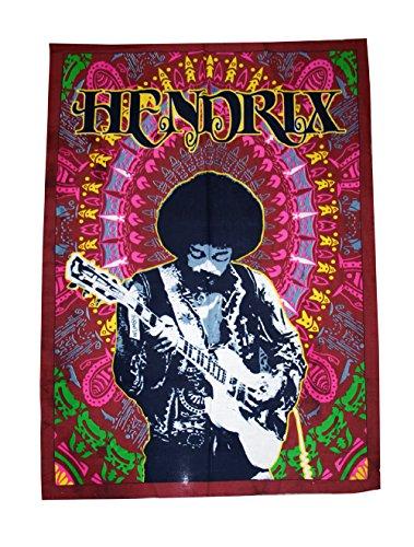 Nueva bandera de póster de Bob Marley tapiz colgante de pared Throw algodón 41* 31Hippie Hippy