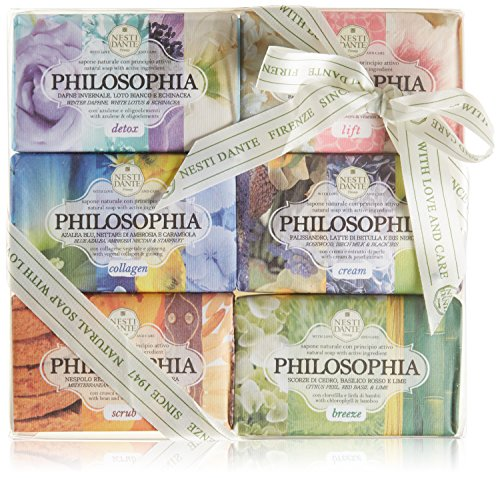 Nesti Dante Philosophia Gift Set (6 x 150 g), primo pacchetto (1 x 6 pezzi)