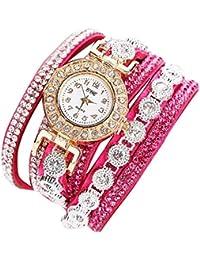 ZARLLE Dama Con Un PequeñO Reloj De Pulsera Reloj De Pulsera, Mujeres Moda Casual Mujeres Rhinestone Reloj De Pulsera De Reloj De Regalo