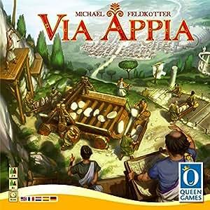 Asmodee - Qgvia01ml - Jeu De Plateau - Via Appia