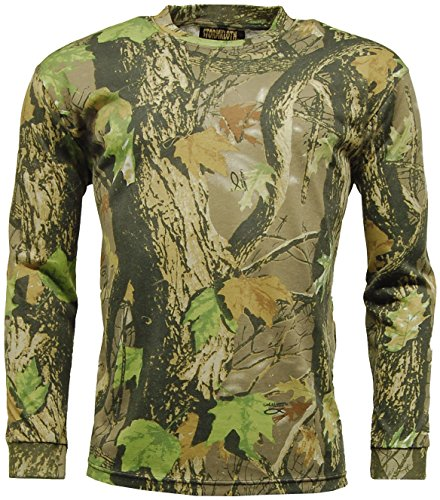 Mens STORMKLOTH Camouflage God's Camo T Shirt - Long Sleeve