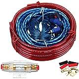 Ambiente 1500W Cable de audio de coche amplificador cableado Kit de instalación de Altavoz Subwoofer Cable de alimentación 8GA 60AMP Portafusibles