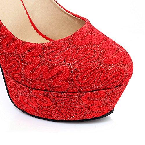 Adee Chaussures À Talons Rouges Pour Femmes