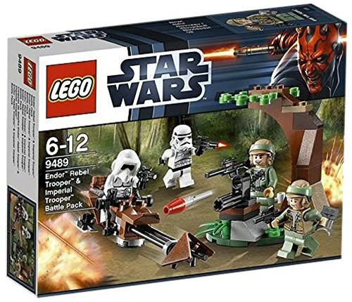 Imagen 8 de LEGO Star Wars - Endor Rebel Trooper & Imperial Trooper Battle Pack (9489)