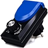 Stroomregelaar stopcontact 100-230 V tot 800 Watt toerentalregelaar voor vijverpompen