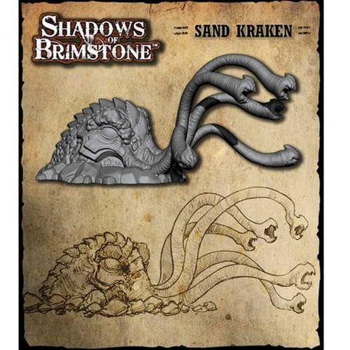 Shadows of Brimstone: The Sand Kraken XXL Enemy Pack