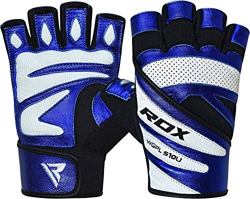 RDX-Weight-Lifting-Gloves-Gym-Fitness-Crossfit-Workout-Bodybuilding-Powerlifting-Exercise-Cowhide-Leather-Breathable-Wrist-Support-Strength-Training