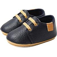LACOFIA Sneakers per Neonato Scarpine Oxford Scarpe Primi Passi Antiscivolo per Bambino