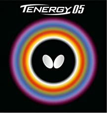Butterfly Tenergy 05 Table Tennis Rubber, 2.1 (Black)