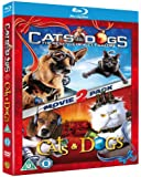 Cats And Dogs 1 and 2 (Blu-ray+DVD) [2010] [Region Free]