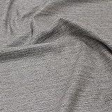 kawenSTOFFE Tweedstoff Wollstoff blau, grau meliert