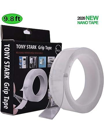 Qu/_ 1//2//3//5m 2 Side Grip Tape Traceless Adhesive Tape Nano Invisible Gel Pad Fil