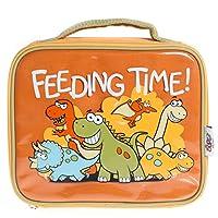 Bugzz Lunch Dinosaur Bag - Orange