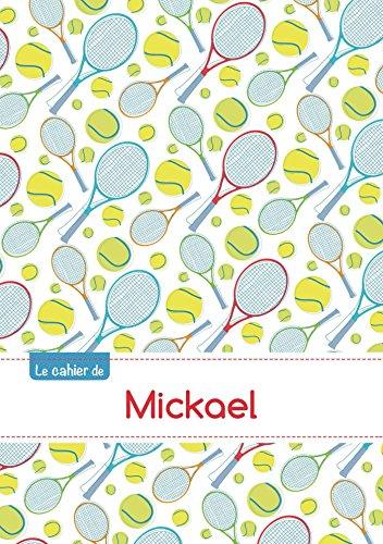 CAHIER MICKAEL SEYES,96P,A5 TENNIS