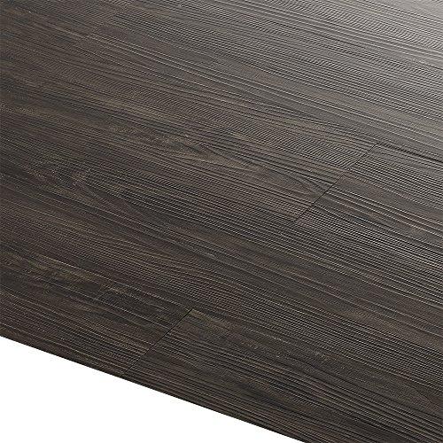 [neu.haus] Vinyl-Laminat Sparpaket (4m²) Selbstklebend Wenge - matt (28 Dekor Dielen = 3,92 qm) Design Bodenbelag / gefühlsecht / strukturiert