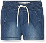 NAME IT Baby-Jungen Shorts NBMRYAN DNMABEN 3051 Long, Grau Dark Blue Denim, 68