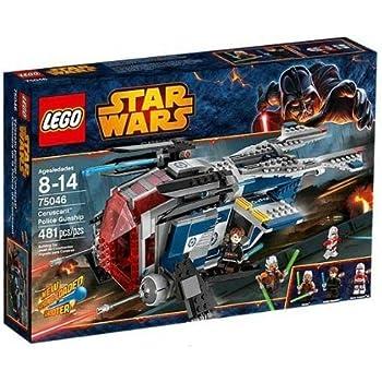 Legp Star Wars - 75046 - Vaisseau De La Police De Coruscant