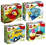 LEGO Duplo 4-Teiliges Set: 10849 10850 10851 10852