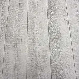 stoff meterware wasserdicht holz shabby bretter planken wei wachstuch tischdecke abwaschbar. Black Bedroom Furniture Sets. Home Design Ideas