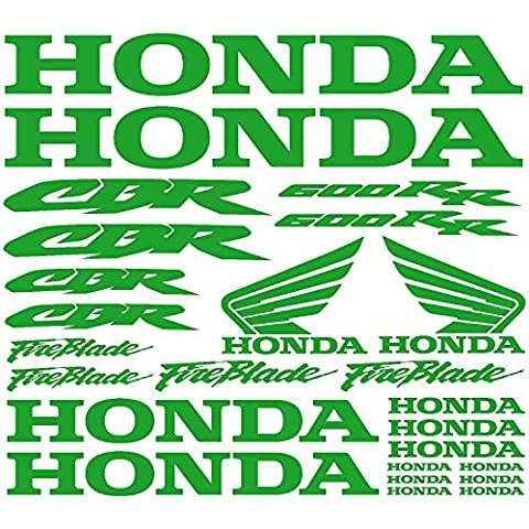 Stickers Sticker Honda CBR 600RR Ref: moto-039 light green