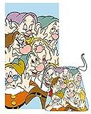Telo Mare + borsa Disney 7 nani