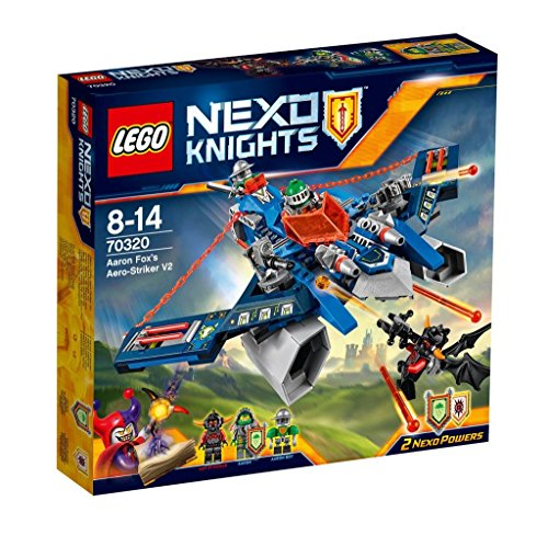 LEGO 70320 Nexo Knights Aaron Foxs Aero-Striker V2 Construction Set