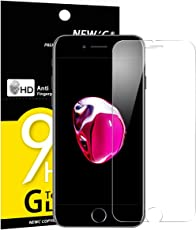 Panzerglas iPhone 7/8, NEWC® Tempered Glass 9H Härte, Frei von Kratzern Fingabdrücken und Öl, HD Displayschutzfolie, 0.33mm Ultra-klar, panzerglas schutzfolie für iPhone 7/8