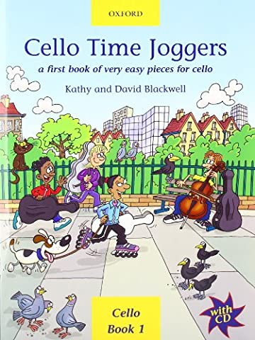 Cello Time Joggers + CD: A first book of very easy pieces for cello (Cave Sammlung)