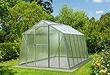 Gewächshaus Hobby Typ 7/3 Größe 247 x 300 x 202 cm (B x L x H) = 7,40 m²