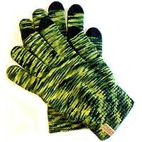 PRESKIN agradable colorido invierno guantes para pantalla táctil, Tablets, Smartphones 4G 4S iPad iPhone Neon